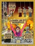 AIDS - Abhorrent Islamic Delusional Syndrome by brentcherry