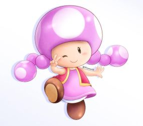 Toadette by AlcyoneAX