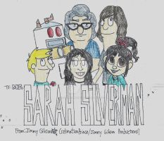 Sarah Silverman Tribute by CelmationPrince