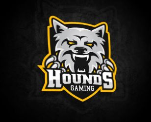Logo for Hounds-Gaming by MYeSportdesign