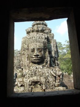 Angkor Thom - Faces by Fraulein-Dangersmith