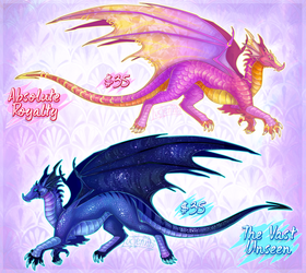 (NEW) Detailed Dragon Adopts 1 (CLOSED) by Lucieniibi