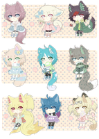 Adoptable Batch 01 (Set Price ll CLOSED) by Awkie