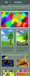 My color process by griffsnuff