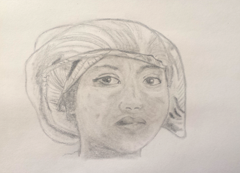 Cosmos Face Study Week #2 (of 52) by UnbridledMuse