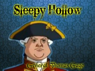 General Thomas Gage by sailormoonsonic