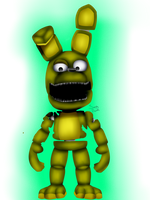 ^plushtrap^ (fnaf world) by Sanity-Paints