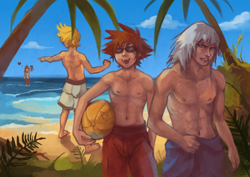 KH: No pants, really by Anyarr