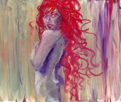 Woman in Oils by JessicaDru