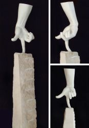 Dancing hand by Patchco