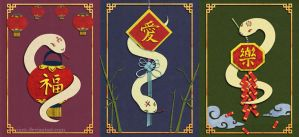Year of the Snake by sawa-rint
