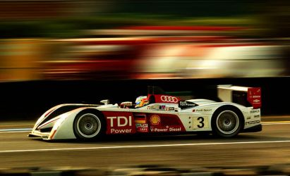 Audi at Le Mans qualifying by DaveAyerstDavies