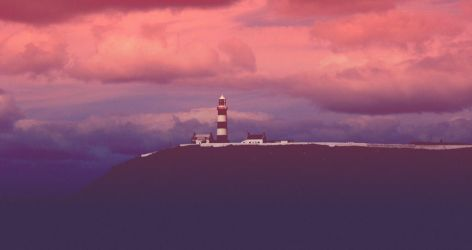 The Old Light House by zroxaszz