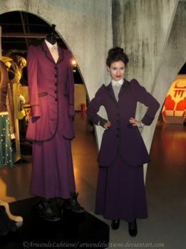 Missy with Missy at the Doctor Who Experience I by ArwendeLuhtiene