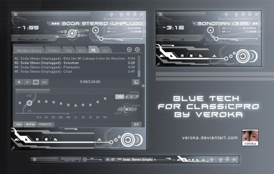 cPro - Blue Tech by Veroka