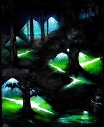 All Night in the Park by Cutshaw1