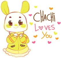 673 - Chachi loves you by Yesirukey