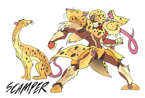 Scamper- Beast Wars Future by NickOnPlanetRipple