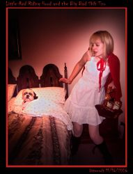 Red Riding Hood and Shih Tzu by Kittensoft
