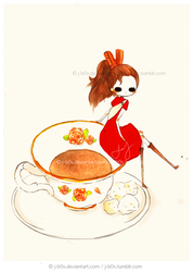 On a Teacup by j-b0x