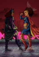 Afr-Am Female World's Finest by anubis2kx
