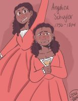 Angelica schuyler by LittleEchoArtist