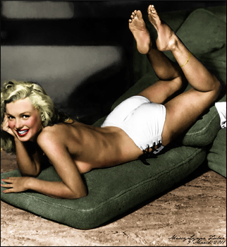 Marilyn Monroe by MissyLynne