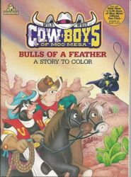 ''Bulls of a Feather'' Colouring Book by CCB-18
