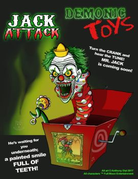 Demonic Toys: Jack Attack by Gummibearboy
