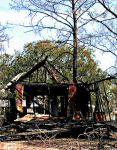 Burned Out House Monticello by slephoto
