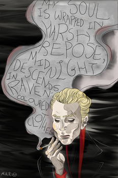 Spike or William the Bloody Portrait by SmudgeThistle