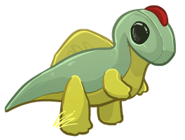 Spino Plush by Haxorua