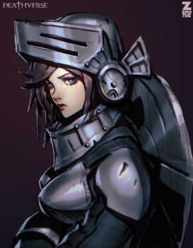 Armored Girl - Deathverse by Zeronis