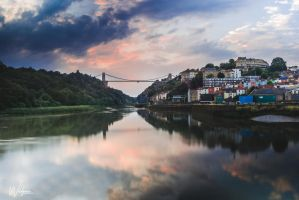 Evening Light in Bristol by WildgoosePhotography