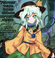 The lost Hartmann's Youkai(Kaa and Koishi Komeiji) by HappyHypno