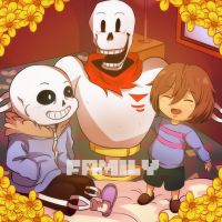 Undertale Post-Pacifist by Evamsion