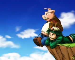 When Pigs Fly... by jameson9101322