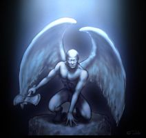 hells angel by dypsomaniart