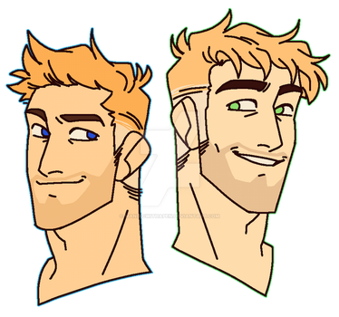 idk why some peeps think Jase is Jack/Soldier76??? by ManiacWithAPen