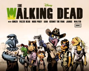 The Walking Dead Muppets by Dawid-B