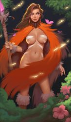 Forest sorceress by janunolart