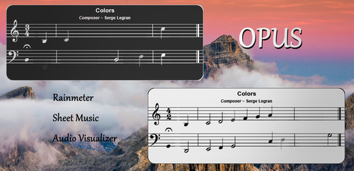 Opus for Rainmeter by Eclectic-Tech
