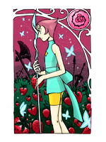 Pearl on the Strawberry Fields by neerai