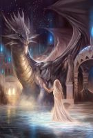 Forwen And Dragon by rodmendez
