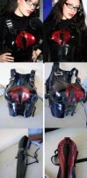 My new BARONESS' ARMOR by Pit Viper Studio by Daelyth