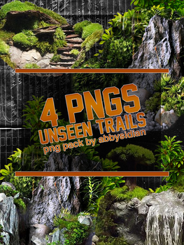 Unseen Trails PNG Pack by Abbysidian by Abbysidian