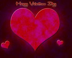 Saint Valentines Day Wallpaper by ZombieBear