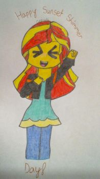 Happy Sunset Shimmer Day! by CreativeGamer820SCW