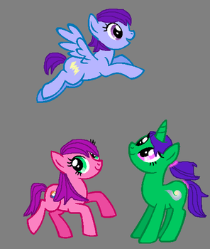 Remake of 'Mah Poneh OC's!' by jeepers6