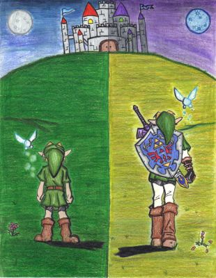 link past and present by x3KHloverx3